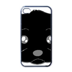Affenpinscher Cartoon 2 Sided Head Apple iPhone 4 Case (Black)