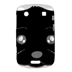 Affenpinscher Cartoon 2 Sided Head BlackBerry Bold Touch 9900 9930 Hardshell Case