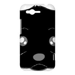Affenpinscher Cartoon 2 Sided Head HTC Rhyme Hardshell Case