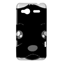 Affenpinscher Cartoon 2 Sided Head HTC Radar Hardshell Case