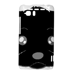 Affenpinscher Cartoon 2 Sided Head HTC Vivid / Raider 4G Hardshell Case