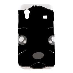 Affenpinscher Cartoon 2 Sided Head Samsung Galaxy Ace S5830 Hardshell Case