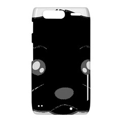 Affenpinscher Cartoon 2 Sided Head Motorola Droid Razr XT912 Hardshell Case