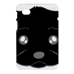 Affenpinscher Cartoon 2 Sided Head Samsung Galaxy Tab 7  P1000 Hardshell Case