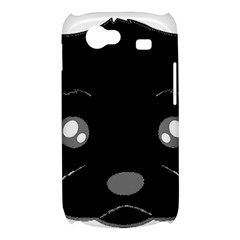 Affenpinscher Cartoon 2 Sided Head Samsung Galaxy Nexus S i9020 Hardshell Case