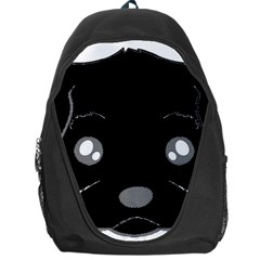 Affenpinscher Cartoon 2 Sided Head Backpack Bag