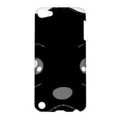 Affenpinscher Cartoon 2 Sided Head Apple iPod Touch 5 Hardshell Case