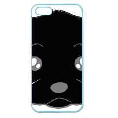 Affenpinscher Cartoon 2 Sided Head Apple Seamless iPhone 5 Case (Color)