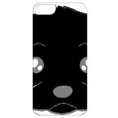 Affenpinscher Cartoon 2 Sided Head Apple iPhone 5 Classic Hardshell Case