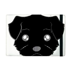 Affenpinscher Cartoon 2 Sided Head Apple iPad Mini Flip Case