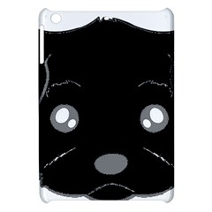 Affenpinscher Cartoon 2 Sided Head Apple iPad Mini Hardshell Case