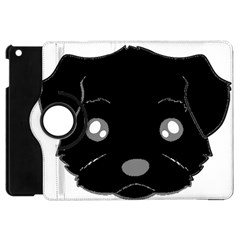 Affenpinscher Cartoon 2 Sided Head Apple iPad Mini Flip 360 Case