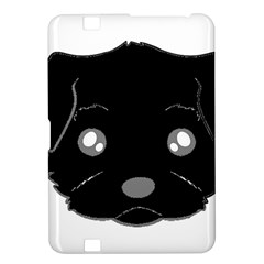 Affenpinscher Cartoon 2 Sided Head Kindle Fire HD 8.9  Hardshell Case