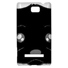 Affenpinscher Cartoon 2 Sided Head HTC 8S Hardshell Case