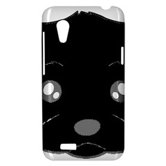 Affenpinscher Cartoon 2 Sided Head HTC Desire VT (T328T) Hardshell Case