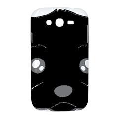 Affenpinscher Cartoon 2 Sided Head Samsung Galaxy Grand DUOS I9082 Hardshell Case