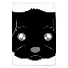 Affenpinscher Cartoon 2 Sided Head Removable Flap Cover (Large)