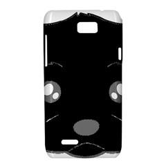 Affenpinscher Cartoon 2 Sided Head Motorola XT788 Hardshell Case