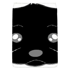 Affenpinscher Cartoon 2 Sided Head Removable Flap Cover (Small)