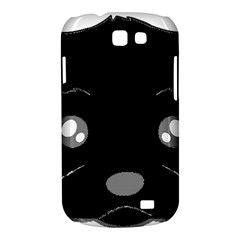Affenpinscher Cartoon 2 Sided Head Samsung Galaxy Express I8730 Hardshell Case