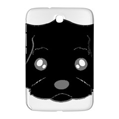 Affenpinscher Cartoon 2 Sided Head Samsung Galaxy Note 8.0 N5100 Hardshell Case