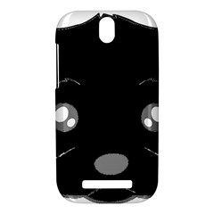 Affenpinscher Cartoon 2 Sided Head HTC One SV Hardshell Case