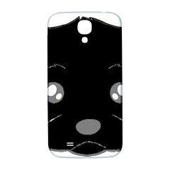 Affenpinscher Cartoon 2 Sided Head Samsung Galaxy S4 I9500/I9505  Hardshell Back Case