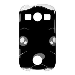 Affenpinscher Cartoon 2 Sided Head Samsung Galaxy S7710 Xcover 2 Hardshell Case