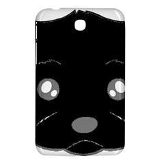Affenpinscher Cartoon 2 Sided Head Samsung Galaxy Tab 3 (7 ) P3200 Hardshell Case