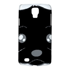 Affenpinscher Cartoon 2 Sided Head Samsung Galaxy S4 Active (I9295) Hardshell Case