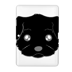 Affenpinscher Cartoon 2 Sided Head Samsung Galaxy Tab 2 (10.1 ) P5100 Hardshell Case