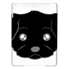 Affenpinscher Cartoon 2 Sided Head Apple iPad Air Hardshell Case