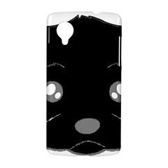 Affenpinscher Cartoon 2 Sided Head Google Nexus 5 Hardshell Case