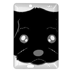 Affenpinscher Cartoon 2 Sided Head Kindle Fire HD (2013) Hardshell Case