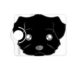 Affenpinscher Cartoon 2 Sided Head Kindle Fire HD (2013) Flip 360 Case