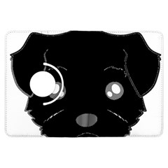 Affenpinscher Cartoon 2 Sided Head Kindle Fire HDX Flip 360 Case