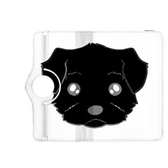 Affenpinscher Cartoon 2 Sided Head Kindle Fire HDX 8.9  Flip 360 Case