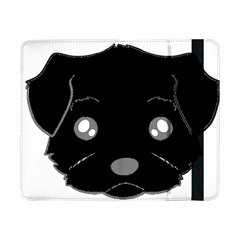 Affenpinscher Cartoon 2 Sided Head Samsung Galaxy Tab Pro 8.4  Flip Case