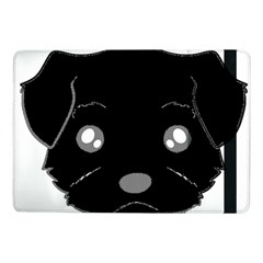 Affenpinscher Cartoon 2 Sided Head Samsung Galaxy Tab Pro 10.1  Flip Case