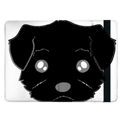 Affenpinscher Cartoon 2 Sided Head Samsung Galaxy Tab Pro 12.2  Flip Case