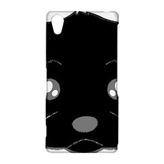 Affenpinscher Cartoon 2 Sided Head Sony Xperia Z2 Hardshell Case