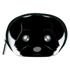 Affenpinscher Cartoon 2 Sided Head Accessory Pouch (Medium)