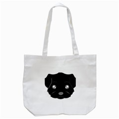 Affenpinscher Cartoon 2 Sided Head Tote Bag (White)