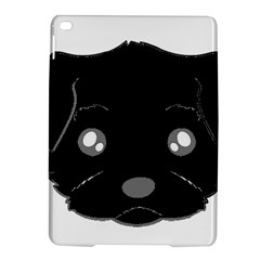 Affenpinscher Cartoon 2 Sided Head Apple iPad Air 2 Hardshell Case