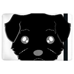 Affenpinscher Cartoon 2 Sided Head Apple iPad Air 2 Flip Case