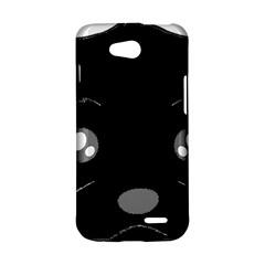 Affenpinscher Cartoon 2 Sided Head LG L90 D410 Hardshell Case