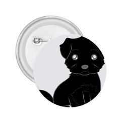 Affenpinscher Cartoon 2.25  Button