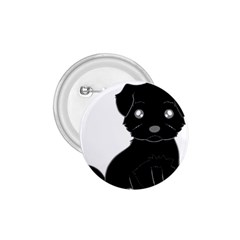 Affenpinscher Cartoon 1.75  Button