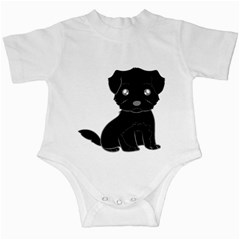Affenpinscher Cartoon Infant Bodysuit