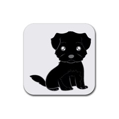 Affenpinscher Cartoon Drink Coasters 4 Pack (Square)